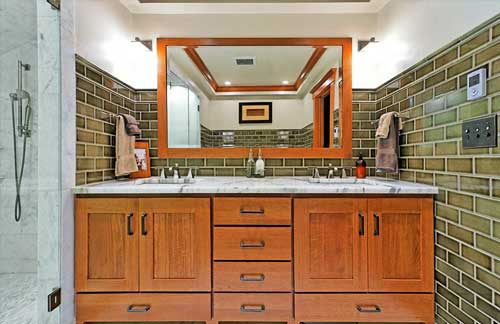 Bathroom cabinets Whidbey Island